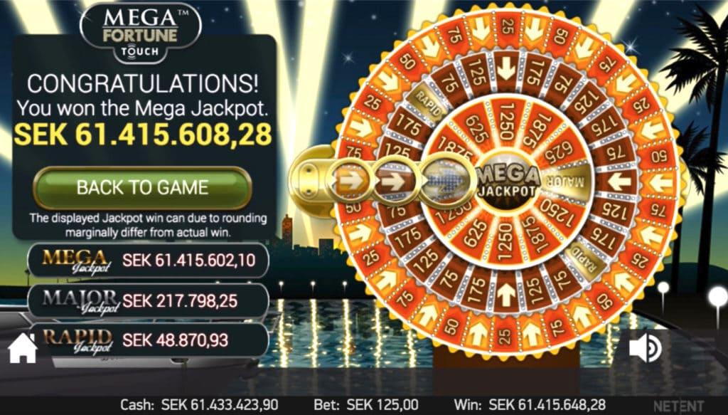 Vinn största jackpottarna online